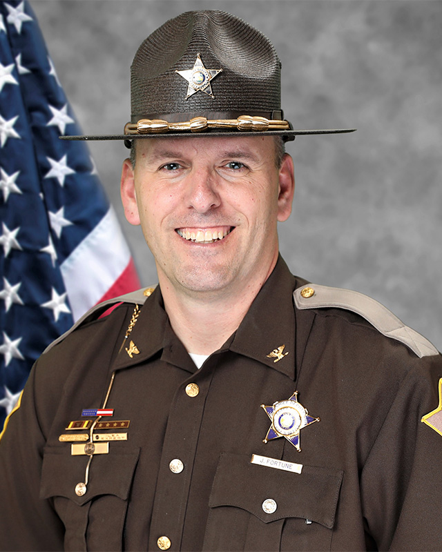 Chief Deputy Jeremy Fortune